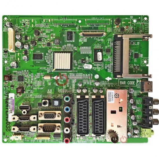EAX60686902 (0), EBU60674822, EAX60686902, LG 37LH4000, 37LH4000, MAİN BOARD, ANA KART, LC420WUE (SB)(C1), LG DİSPLAY