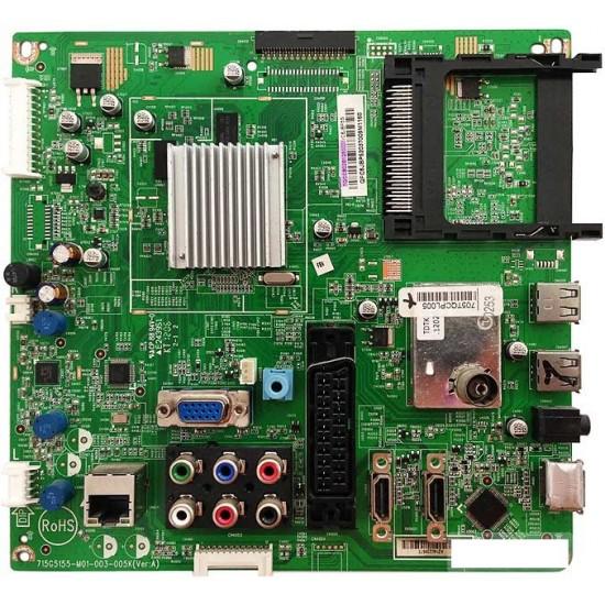 715G5155-M01-003-005K , (VER:A) , Philips , 42PFL3507 , 42PFL3527H ,715G5155-M01-003-005K, TQCCB02B1250001, 705TQCBL005, 715G5155-M01-003-005K(Ver.A), LC320EXE, SSB Board, PHILIPS 32PFL3507H-12